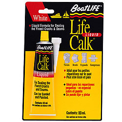 Boatlife Liquid Life-Calk Sealant - White, 3oz.