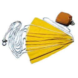 Para Tech Parachute Sea Anchor for Boats to 20', 4,000lb. Max. Displacement, for Use with 3/8 Line and 1/4 Chain, 6' dia., 6 x 7 Storage Bag