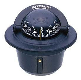Ritchie Navigation Flush-Mount Explorer Compass, Black Case, Black Card Sale $69.99 SKU: 103541 ID# F-50 UPC# 10342160003 :