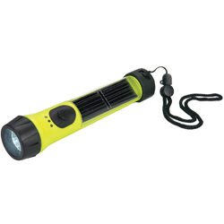 Solar Hybrid Flashlight