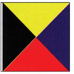 Code of Signals Flag (Z)