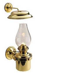 Brass Gimbaled Cabin Lamp