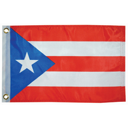 "Puerto Rico Courtesy Flag, 12"" x 18"""