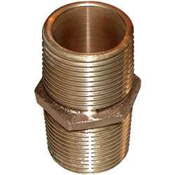 Cast Bronze Threaded Nipples, NPT