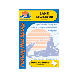Fishing Hot Spots Lake Tawakoni, TX, Fishing Chart Sale $5.88 SKU: 10230555 ID# L710 UPC# 71365307103 :