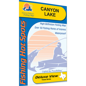 Canyon Fishing Map, Lake
