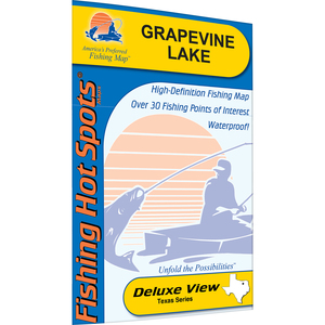Grapevine Lake Fishing Map