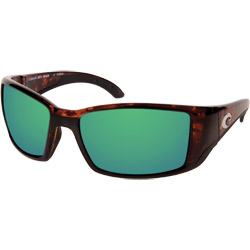 Men's Blackfin Sunglasses with 400G Polarized, Mirrored Lenses