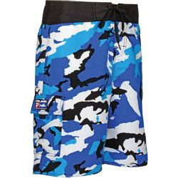 Men's Fishing Camo Shorts