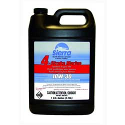 4 Stroke Outboard/Sterndrive Synthetic Motor Oil - 10W-30 - 1 Gallon