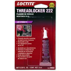 Threadlocker 222 Sealant
