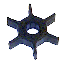 "18-3040 Impeller - Dia. 2"",Dpth. 1/2"" - 6 Fins - Neoprene - Key for Yamaha Outboard Motors"