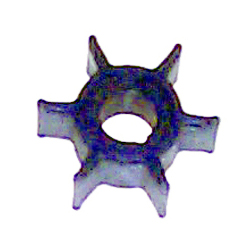 "Impeller - Dia. 1 1/4"",Dpth. 1/2"" - 6 Fins - Neoprene - Ding for Mercury/Mariner Outboard Motors"