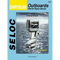 Seloc Manual for Chrysler Outboards 1962-1984