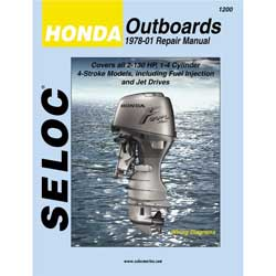 Seloc Manual-Honda Outboards 1978-2001