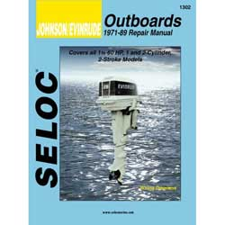 Seloc Manual for Johnson Evinrude Outboards 1971-1989