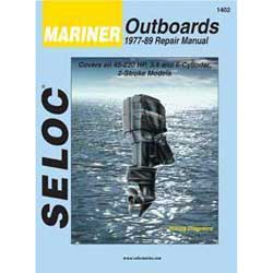 Seloc Manual for Mariner Outboards 1977-1989