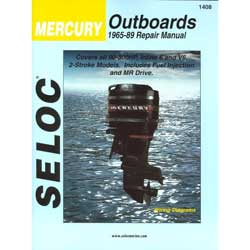 Seloc Manual for Mercury Outboards 1965-1989