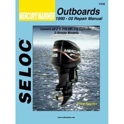 Seloc Manual for Mercury/Mariner Outboards 1990-2000