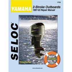 Manuals Seloc Manual for Yamaha Outboards 1997-2003