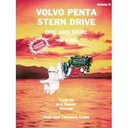 Seloc Manual-Volvo/Penta Stern Drives 1992-1993