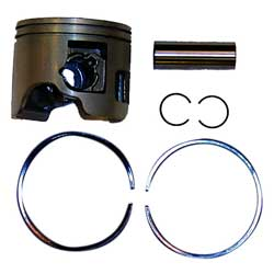 Piston Kit, Port .25mm OS for Yamaha Outboard Motors