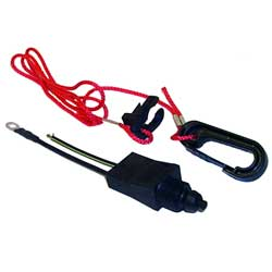 Emergency Cut-Off Switch and Lanyard - Replaces OMC 585134