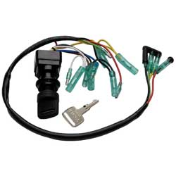 Ignition Switch Exact OEM replacement installation - Yamaha Control Box 2 Stroke