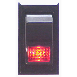 Rocker Switch Illuminated, Mom On-Off - SPST