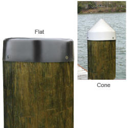 Sail Systems 13 Cone Piling Cap, Black Sale $17.99 SKU: 11812401 ID# 43130 UPC# 27729431304 :