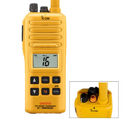 GM1600 Survival Craft Handheld VHF Radio