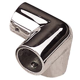 Stainless Steel 3-Way Corner Fitting - 1""