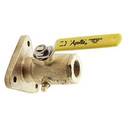 "Full-Flow Sea Flange Valve, 2-1/2"" Thread Size"