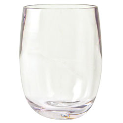 Design+ Contemporary Collection Osteria Bordeaux Stemless Wine Glasses