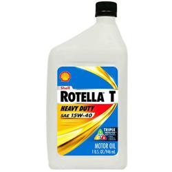 Shell Rotella T SAE 15/40 Engine Oil, 1 Quart