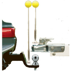 Tow Ready Solo-Hitch Alignment System