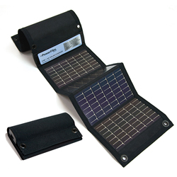 USB + AA Solar Battery Charger