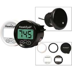 D10D In-Dash Digital Depth Sounder, Thru-Hull Transducer