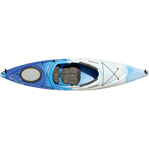 "Swiftwater 10.5' Blue/White Kayak, 26.75"" Beam, 44lb. Weight, 295lb. Capacity"