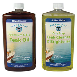 Teak Care Kits Quart