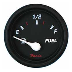 Fuel Level Gauge - Professional Red