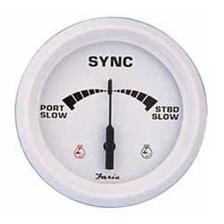 Dual Engine Synchronizer Gauge