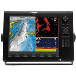 NSE12 Chartplotter / Multi-Function Display with HD Insight US Cartography