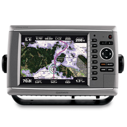 Garmin GPSMAP Premier Chartplotter 6208 with preloaded BlueChart g2 maps of the U.S. coast, 8.4