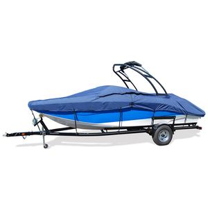 "V-Hull Tower Bow Rider Cover, I/O, Pacific Blue, Hot Shot, 21'5""-22'4"", 102"" Beam"