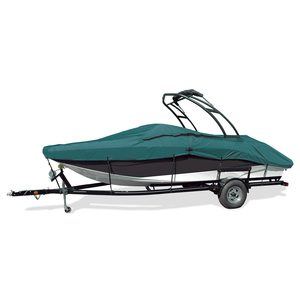 "V-Hull Tower Bow Rider Cover, I/O, Teal, Hot Shot, 22'5""-23'4"", 102"" Beam"