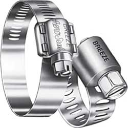 300-Series Stainless Steel Hose Clamps (Sold Individually)