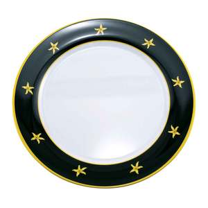 Black Compass Serving Platter