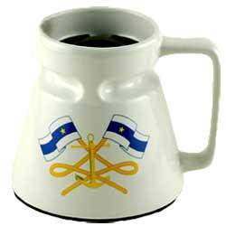 Galleyware Admiral Ceramic Mug Sale $13.99 SKU: 11163169 ID# 5907 UPC# 650620059072 :
