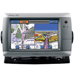 GPSMAP 740s Chartplotter / Sounder with GMR 18HD Radome with No Transducer